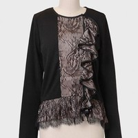 Le Marais Lace Accent Jacket