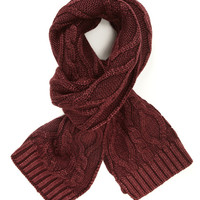 Cable Scarf by Scotch & Soda at Gilt