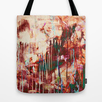 autumn rain Tote Bag by Iris Lehnhardt