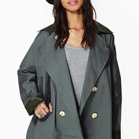 Keep A Secret Trench Coat