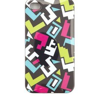 Geometric Print Phone Case - 4