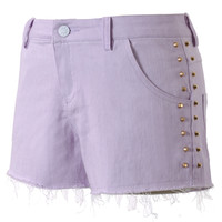 Chicwish Studded Purple Shorts