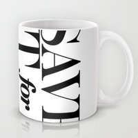 save it for the pier Mug by Miranda J. Friedman