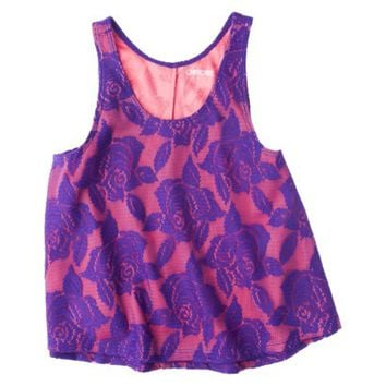 Cherokee® Girls' Layered Lace Tank - Assorted