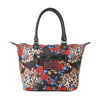 Betsey Johnson Rosey Mix Up Satchel
