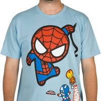 Marvel Kawaii Swinging Spidey Shirt