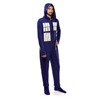 TARDIS Footie Union Suit