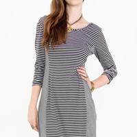Static Stripe Dress