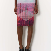 Desert Print Tube Skirt