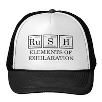 hat rush elements exhilaration