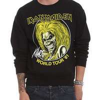 Iron Maiden Killer World Tour Crewneck Sweatshirt