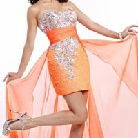 Embellished Sweetheart Gown by Party Time