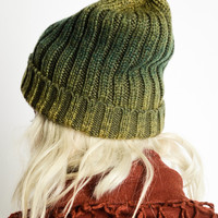 Ombre Slouch Beanie