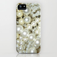 Pearls - for iphone iPhone & iPod Case by Simone Morana Cyla