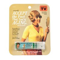 Accept The Fact You Are Aging Breath Spray