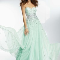 Paparazzi by Mori Lee 95090 Elegant Evening Gown