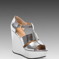 Marc by Marc Jacobs Sandal Wedge in Gunmetal
