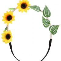 All accessories > FIELD OF SUNFLOWERS HEADBAND