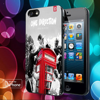 One Direction Telephone Box Cover for iPhone, Samsung, iPod, Blacberry, htc and sony Case
