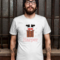 Stuck in the Chimney - Baby Bodysuit or Toddler Tee T Shirt for Men (Various Color Available)