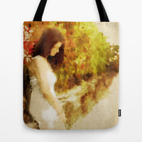 Waiting for love Tote Bag by SensualPatterns