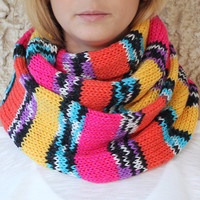 By(knitscarf).Knit-ScarfWithButton,Infinit...