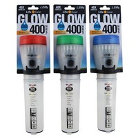 Life Gear Glow 400-hr. Flashlight - Assorted Colors