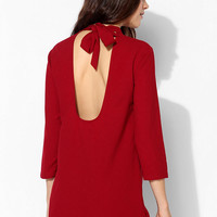Pins And Needles Long-Sleeve Tie-Back Dress - Urban Outfitters