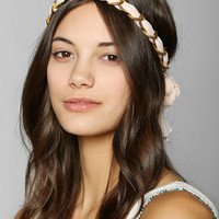 Chained Chiffon Headwrap  - Urban Outfitters