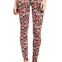 On a Leg of Roses Legging