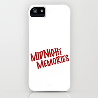 Midnight Memories iPhone & iPod Case by The Letter Shop by Monika Strigel