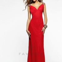 Faviana 7301 Sexy Evening Gown