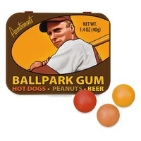 Ballpark Gumballs - Really Tastes Like Peanuts, Hot dogs and Beer!