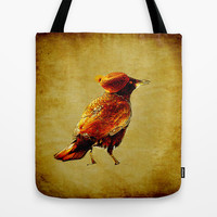 Crow Tote Bag by ganech