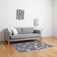 Heather Dutton Fragmented Grey Woven Rug