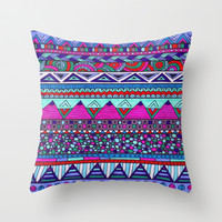 Alpine Throw Pillow by Erin Jordan
