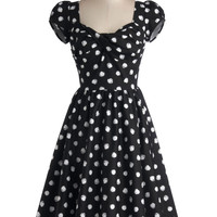 Stop Staring! Fun of Those Days Dress | Mod Retro Vintage Dresses | ModCloth.com