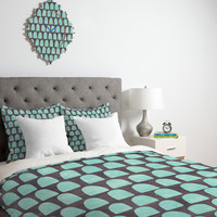 Jacqueline Maldonado Slate And Ice Duvet Cover