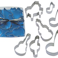 Muscial cookie cutter set