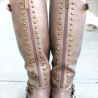 At Journey's End Boot - Taupe