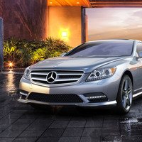 The 2014 Mercedes-Benz CL-Class Coupe