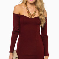 Day Off Shoulder Dress $29