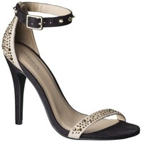 Women's Xhilaration® Pallas Studded Open Pumps - Black