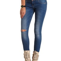 REFUGE HIGH WAISTED SKINNY JEAN
