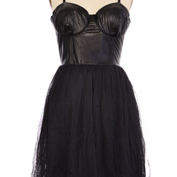 Black Swan Corset Dress