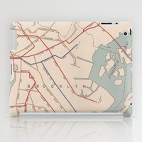 Vintage Brooklyn Map  iPad Case by LookHUMAN