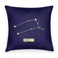 Gemini Pillow