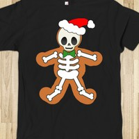 Gingerbread Man Skeleton Tshirt