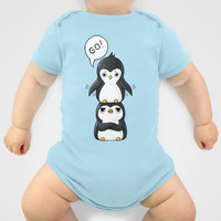 Penguins Onesuit by Freeminds