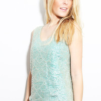 The Mermaid 2.0 Sequined Tank - Furor Moda - Tops - Dresses - Jackets - Vintage
